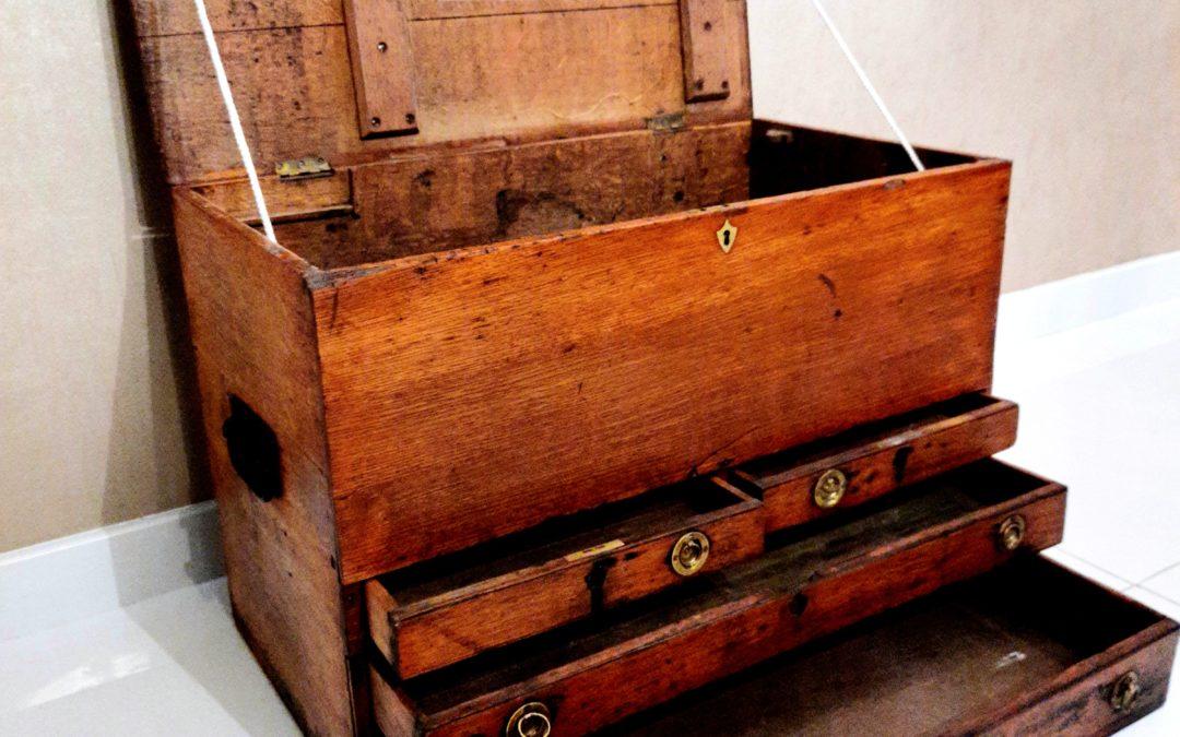 Caisse à Outils Anglaise XIXème