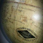 Globe terrestre COLUMBUS fin XIXème