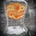 Bonbonnière d'épicerie ancienne bonbon d'helvétie - esprit brocante hermin