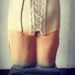 Buste publicitaire lingerie Liane de chez DIOR - esprit brocante hermin