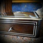 Coffret à bijoux Napoléon III marqueterie ivoire - esprit brocante hermin