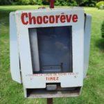 Distributeur chocolats Chocorêve 1968 - esprit brocante hermin