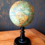 Globe Terrestre J. Forest Napoléon III - esprit brocante hermin