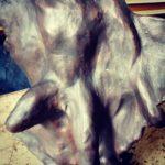 Sculpture contemporaine RUSTICA 2000 - esprit brocante hermin