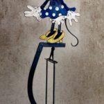 Soyeux estaminet jouet à balancier Minnie Mouse - esprit brocante hermin