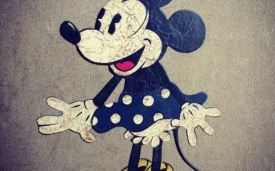 Art Populaire – Soyeux d'Estaminet Minnie Mouse
