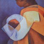 Tapisserie Louis Toffoli La Maternité - esprit brocante hermin